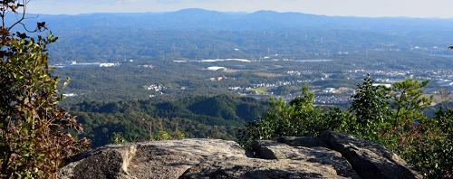 猿投山展望台からの風景