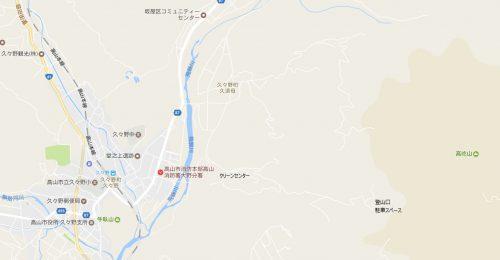 高屹山駐車場マップ