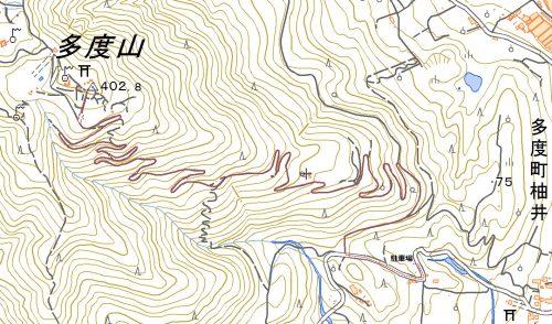 多度山・ポケットパークハイキングマップ