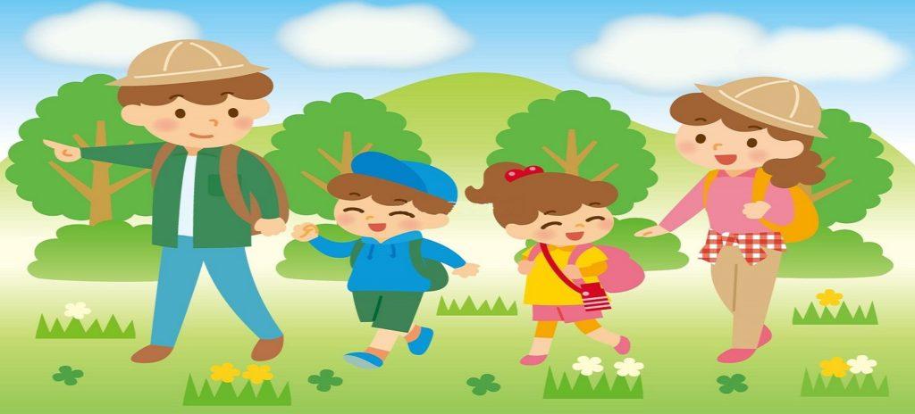 子供とハイキング