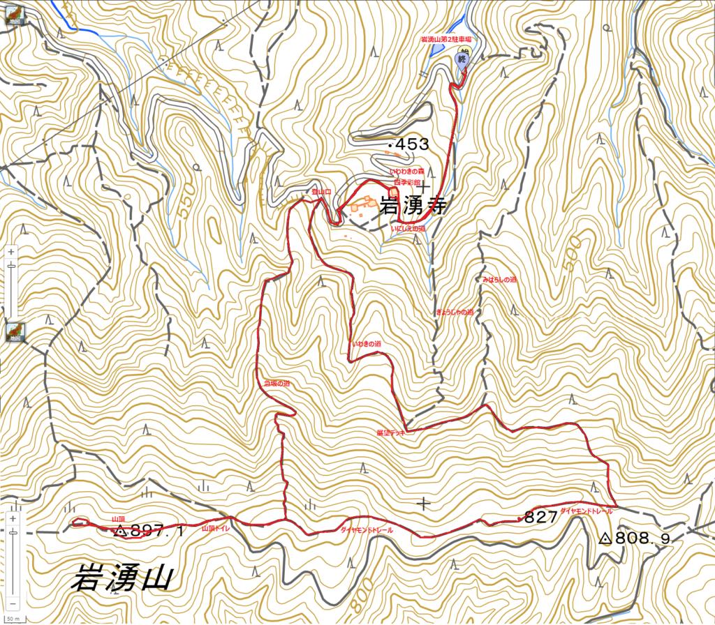岩湧山ハイキングコース
